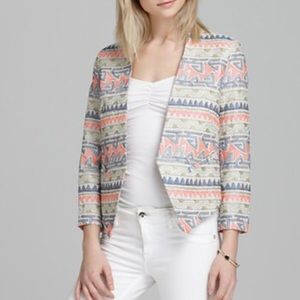 PARKER Aztec Embroidered blazer Jacket